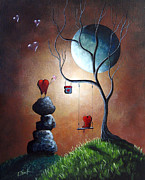 Swing Art Paintings - Just Because I Love You by Shawna Erback by Shawna Erback