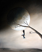 Swing Art Paintings - Just Like Heaven by Shawna Erback by Shawna Erback