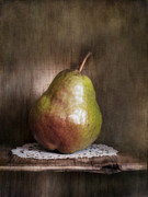 Brown Pears Framed Prints - Just One Framed Print by Priska Wettstein