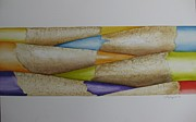 Pencils Paintings - Just Sharpened by Lynn Nebergall