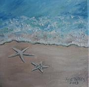 Relax Paintings - Just The Two Of Us by Julie Brugh Riffey