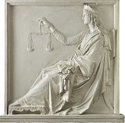 Portrait Of An Earlier Time Posters - Justice Poster by Fondazione Cariplo