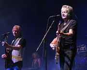 Melinda Saminski Metal Prints - Justin and John of the Moody Blues Metal Print by Melinda Saminski