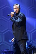 Concert Photos Art - Justin Timberlake by Front Row  Photographs