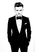 Music Prints - Justin Timberlake Print by Sanely Great