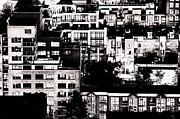 Urban Scenes Originals - Juxtaposed Intimate by Amyn Nasser