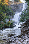 New York Waterfalls Posters - Kaaterskill Falls Poster by Bill  Wakeley