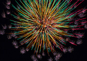 Fourth Of July Prints - Kaboom  Print by Bill Tiepelman