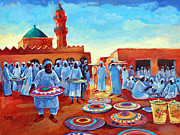 Mohamed Fadul Metal Prints - Kadabas Metal Print by Mohamed Fadul