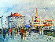 Faruk Koksal - Kadikoy Ferry Arrives