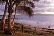 Kai Makani Hoohinuhinu O Kamaole - Kihei Maui Hawaii Print by Sharon Mau