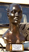Tribal Art Sculptures - Kalahari Woman-Statue of Liberty by Vincent Von Frese