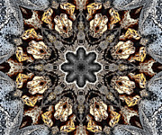 Kaleidoscope Metal Prints - Kaleidoscope - 52 Metal Print by Ely Arsha