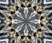 Kaleidoscope Metal Prints - Kaleidoscope - 53 Metal Print by Ely Arsha