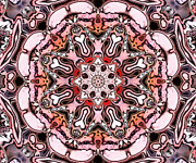 Kaleidoscope Framed Prints - Kaleidoscope - 54 Framed Print by Ely Arsha