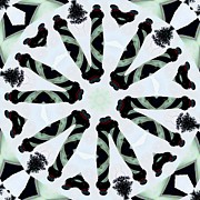 Swirls Prints - Kaleidoscope Lighthouse Pairs Print by Cathy Lindsey