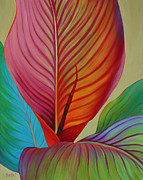Canna Painting Posters - Kaleidoscope Poster by Sandi Whetzel