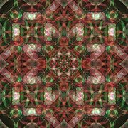 Kaleidoscopic Mandala  Print by Gregory Scott