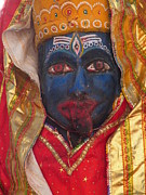 Goddess Durga Photos - Kali Maa - Glance Of Compassion by Agnieszka Ledwon