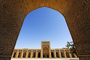Mosque Photos - Kalon Mosque Bukhara by Robert Preston