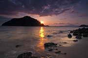 Tropical Sunset Prints - Kameshima Sunrise Print by Aaron S Bedell