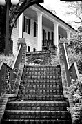 Old School House Prints - Kaminski Stairs Print by John Rizzuto