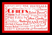 All - Kansas City Chiefs Game Day Food 2 by Andee Photography