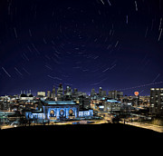 Missouri Star Prints - Kansas City Star Trails Print by Taylor Franta