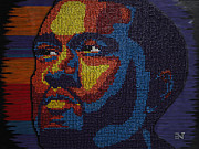 Kanye West Mixed Media Originals - Kanye West - Tacks on Tacks on Tacks by Andre Woolery