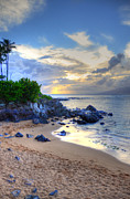 Coconut Palms Prints - Kapalua Bay Print by Kelly Wade