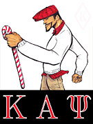 Fraternity Mixed Media Prints - Kappa Alpha Psi Print by Tu-Kwon Thomas