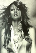 Carl Baker Art - Karen Clark Sheard In Second Chance by Carl Baker