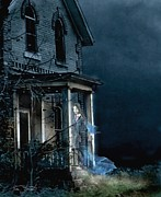 Haunted House Digital Art Metal Prints - Karita Metal Print by Tom Straub