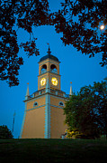 Clocktower Prints - Karlskrona Clocktower Print by Inge Johnsson