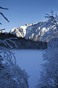 Winter Art - Karwendel in winter by Fabian Roessler