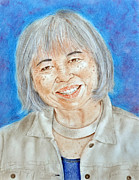 Smiling Mixed Media - Karyl Matsumoto Mayor of So San Francisco  by Jim Fitzpatrick
