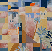 Gillian Cronin - Kasbah and Date Palms