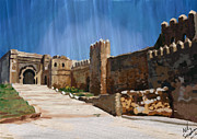 Rabat Framed Prints - Kasbah of the Udayas Framed Print by Nik Sebastian