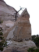 Kasha Katuwe Tent Rocks Prints - Kasha Katuwe Tent Rock Angular Alignment Print by Birgit Seeger-Brooks