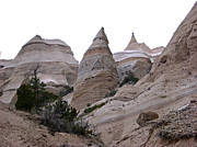 Kasha Katuwe Tent Rocks Prints - Kasha Katuwe Tent Rocks Memories of Cappadocia Print by Birgit Seeger-Brooks