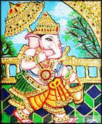 Kasi Yatra Ganesh Print by Jayashree