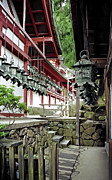 Shogun Photo Prints - Kasuga Lantern Shrine - Nara Japan Print by Daniel Hagerman