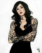 Tom Carlton - Kat Von D