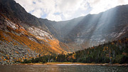 Baxter Framed Prints - Katahdin and Chimney Pond Framed Print by Patrick Downey