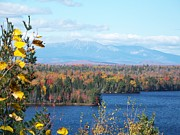 Photos Of Autumn Prints - Katahdin in Autumn Print by Joseph Marquis