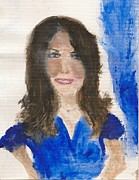 Kate Middleton Print by Angela Rose
