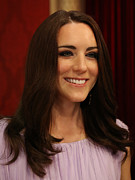 Duchess Photo Posters - Kate Middleton Duchess of Cambridge Poster by Lee Dos Santos