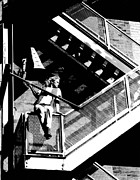 Katie-fire Escape Print by Gary Gingrich Galleries
