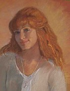 Featured Pastels Originals - Katie by Kimberly Quance