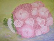 Katie's Wedding Bouquet Print by Paul Galante